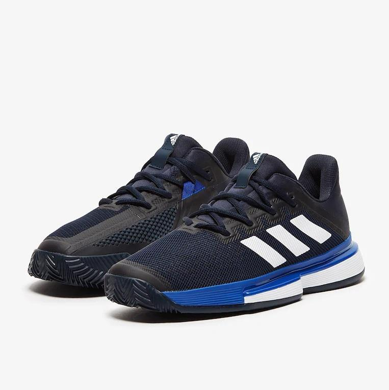 Giầy Tennis Adidas SoleMatch Bounce Xanh | Tennis Us