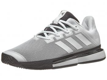 Giầy Tennis Adidas SoleMatch Bounce Đen / Trắng